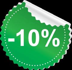 10 százalék akció